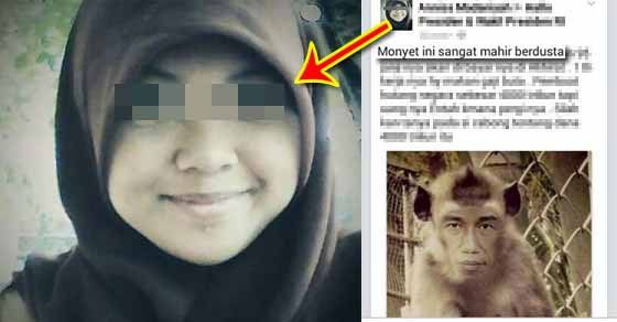 Annisa Madaniyah Penyebar Meme Presiden Jokowi