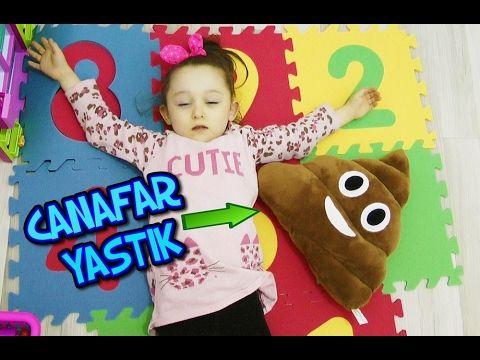 CANAVAR YASTIK VE ÖYKÜ KARANLIK OYUNCAK ORMANINDA Eğlenceli Çocuk Videsosu