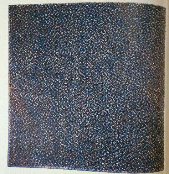 220. Piero Dorazio, Annunzio diagonale, 1960 tela Berlino, nationalgalerie