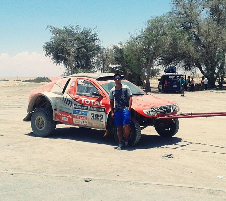 Rally Dakar 2014 - Control de Carabineros Aguas Verdes