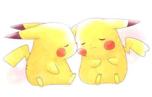 pikachu love...so cute
