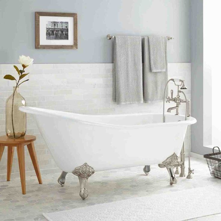 Best 25 clawfoot tubs ideas on pinterest clawfoot bathtub bathroom tubs and clawfoot tub for Small clawfoot tubs for small bathrooms