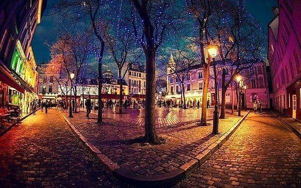 Площадь Тертр, Монмартр, Париж