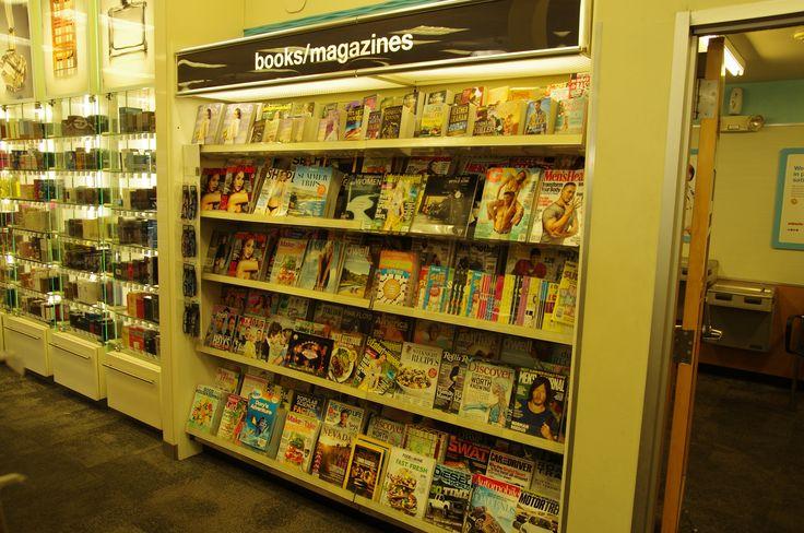 Hat unser Kollege Thomas im Urlaub gefunden und fotografiert gefunden: Ein Kiosk im Supermarkt in Las Vegas