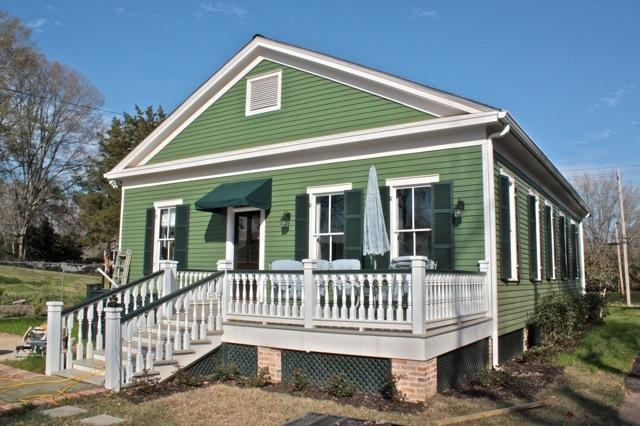 Rear View Of Evergreen Cottage 50th Ideas Pinterest