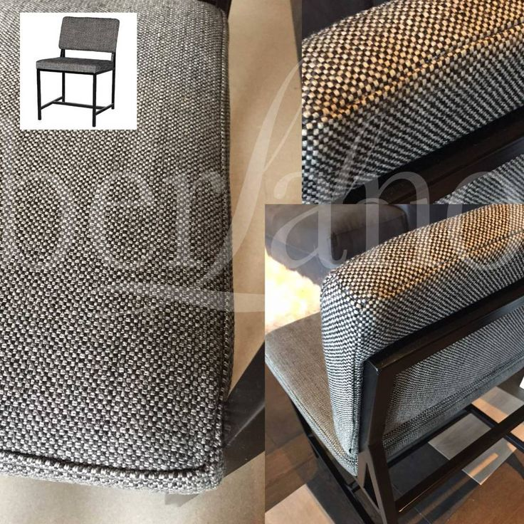 LIFESTYLE ATKINSON DINING CHAIR ANTHRACITE  stoel tweed-stof Eetkamerstoel grijze stof