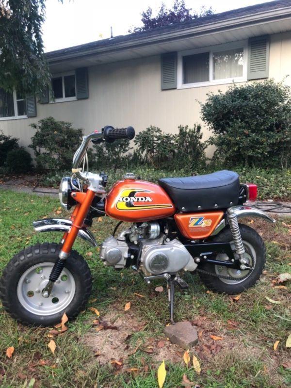 1974 Honda Z50 Mini Trail 50 100 Original Survivor Super Nice Ct Z50r Z50a Br Custom Cafe Racer Vintage Motocross Cafe Racer Motorcycle