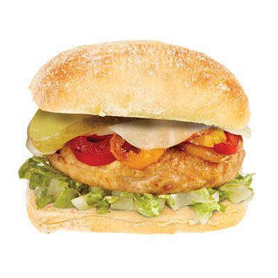 Le burger gourmet au poulet