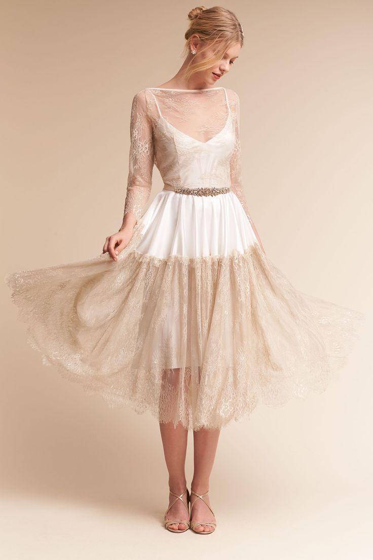 Kirsi Slip Dress & Lotta Overdress from @BHLDN