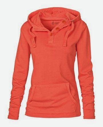 Sleeve warm orange color hoodie fashion style,. . . click for more
