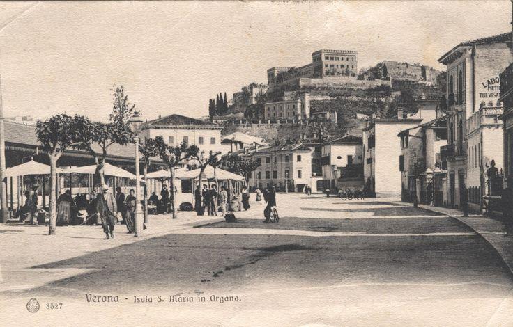 Verona - Isola S.Maria in Organo - Primi 900