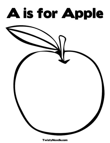 Apple Themed Coloring Pages : Best apple crafts images on pinterest apples