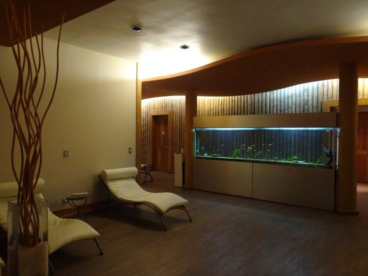 Aqua Spa: Un lugar de calma y relajo total.