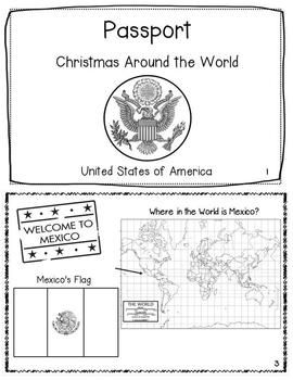 Are you looking for a quick and easy activity to teach kids about Christmas Around the World?  Your students will learn facts about how Christmas is celebrated in Mexico, France, Italy, Germany, Brazil, Australia, the Netherlands, Sweden, England, and the USA.