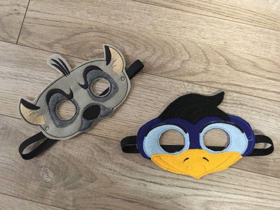 Re Leone ispirato maschere maschere di bambini bambini