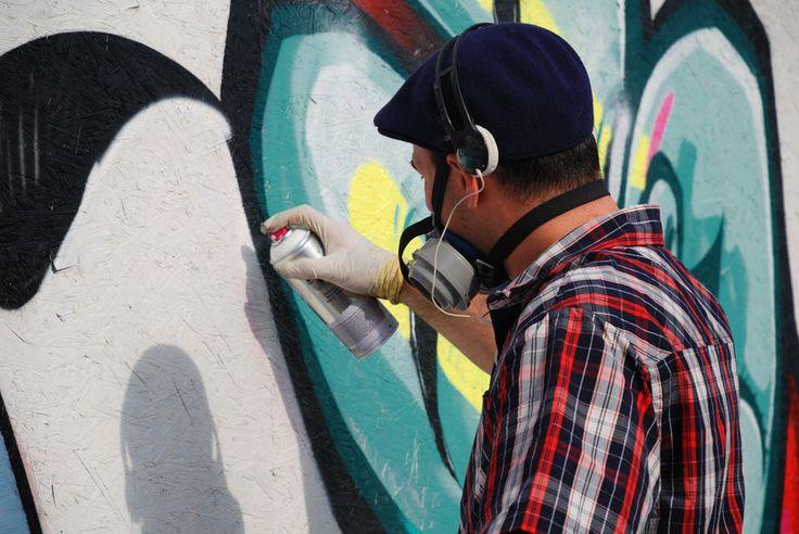 Welche bequemen Atemschutz-Möglichkeiten gibt es für Sprayerinnen und Sprayer?