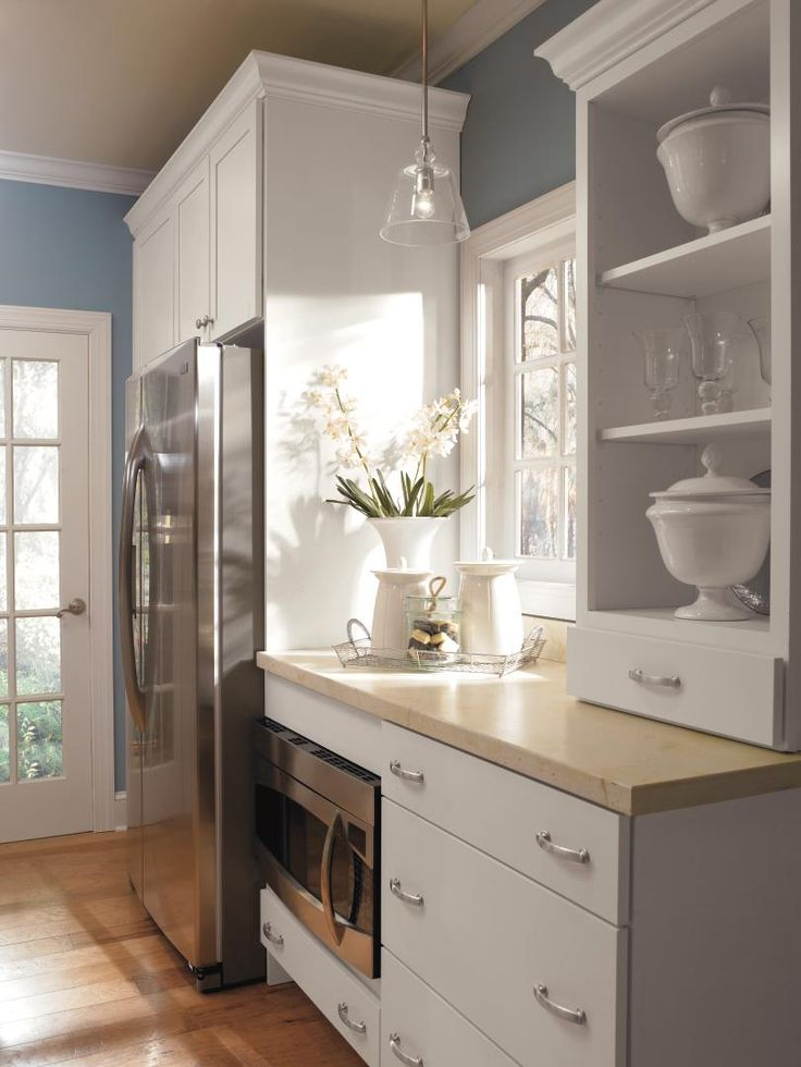 So Popular In Today S Kitchen Designs Open Wall Cabinet
