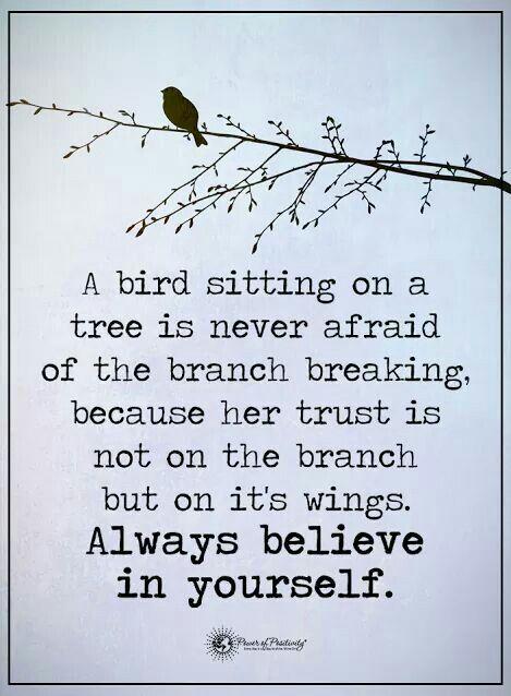 believe in yourself speech pdf