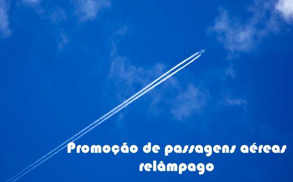 Promoções de passagens aéreas relâmpago #passagensaereas #promoção #voos #finaldesemana