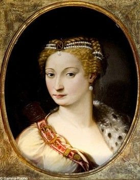 Diane de Poitiers (3 September 1499 – 25 April 1566) was a French noblewoman and a prominent courtier. She became notorious as the Henry II of France's favourite. Diane de Poitiers would remain Henry's lifelong companion. Henry entrusted Diane with the Crown Jewels of France, had the Château d'Anet built for her, and gave her the Château de Chenonceau. Many of Henry's official letters were signed HenriDiane.