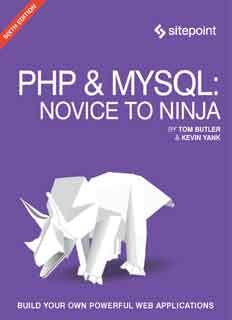Download Php Mysql Novice To Ninja 6th Edition Ebook Pdf It