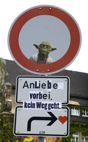 Straßenkunst - An Schildern vorbei, Barbara nicht - Street Art - Kultur - Süddeutsche.de