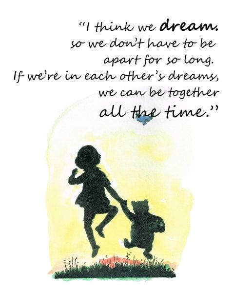 "Pooh Quotes About Friendship: Set Of 4 Classic Winnie The Pooh Quote Prints 8""X10"