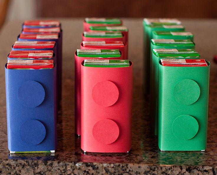 Juice box covers #LegoDuploParty