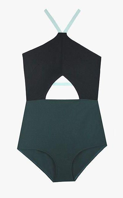 Flagpole Warren one-piece swimsuit, $385.