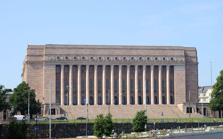 Helsinki July 2013-21 - Parliament House, Helsinki - Wikipedia, the free encyclopedia