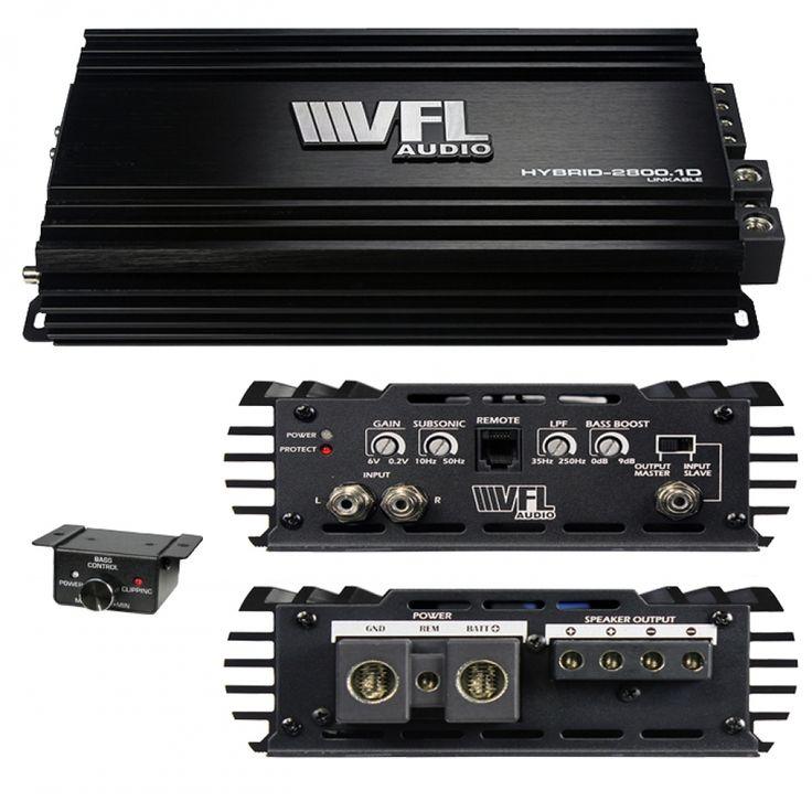 American bass vfl audio hybrid amplifier linkable d class