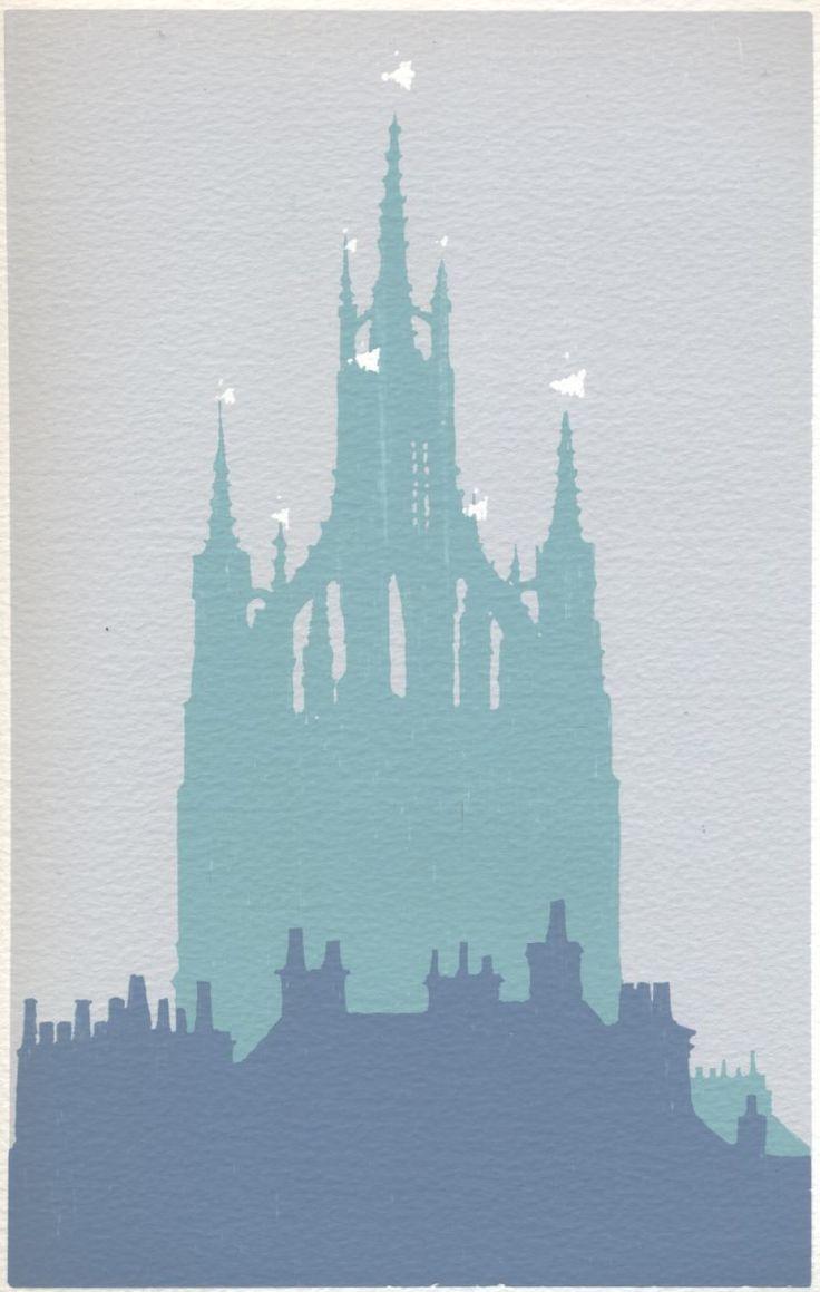 Newcastle Cathedral Screenprint by Ian Scott Massie | Artfinder