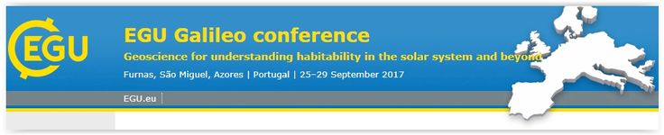 """#geocongress EGU Galileo conference. Furnas, Portugal. 25 Sep 2017 - 29 Sep 2017. The conference """"Geoscience for understanding habitability in the solar system and beyond"""" will be held from 25 to 29 September 2017 at the Terra Nostra Garden Hotel, Furnas, Azores, Portugal. The meeting will start on 25 September in the morning and finish on 29 September at lunchtime..."""