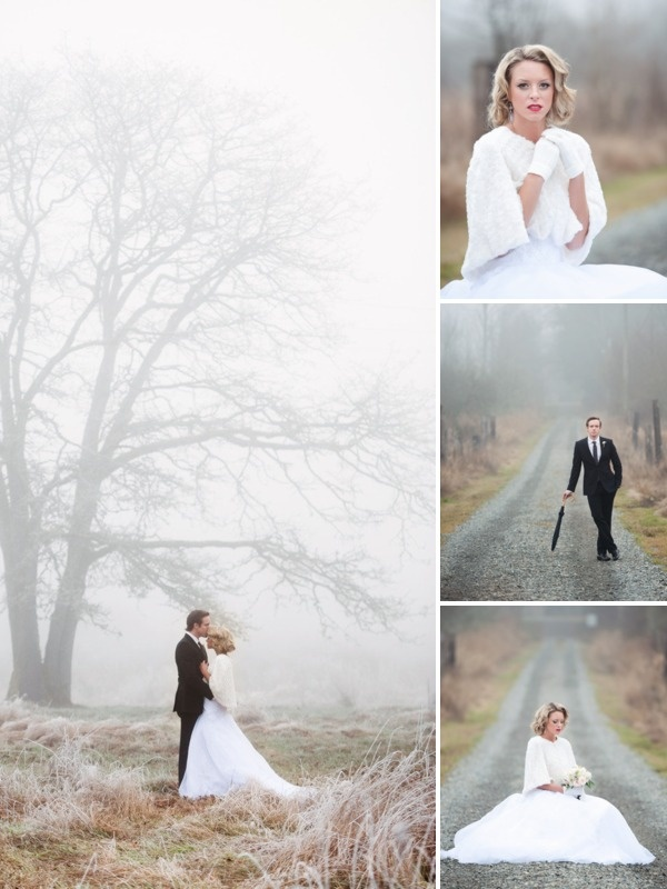 "GORGEOUS Winter Wedding Inspiration Shoot!!! Very ""do-able"" ideas."