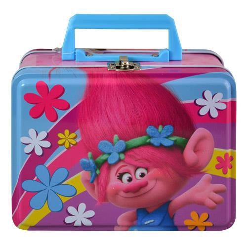 Troll Tin Box w Handle Troll deluxe storage container. Perfect for use as a lunchbox…