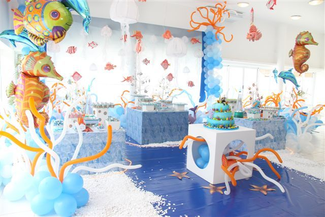 This is such a cute under the sea party idea