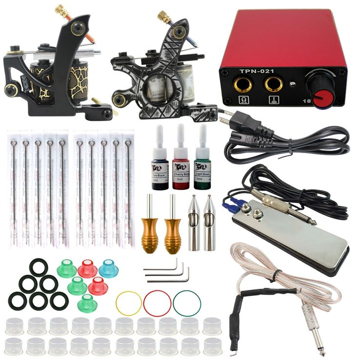 59.15$  Buy now - http://ali6zx.worldwells.pw/go.php?t=32736385496 - ITATOO Pens Tattoo Kit Cheap Tattoo Machine Set Kit Tattooing Ink Machine Gun Supplies For Jewelry Weapon Professional TK104002 59.15$