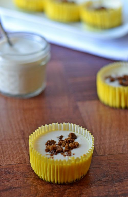 Mini Lemon Cheesecakes with Gingersnap Crust | Recipe