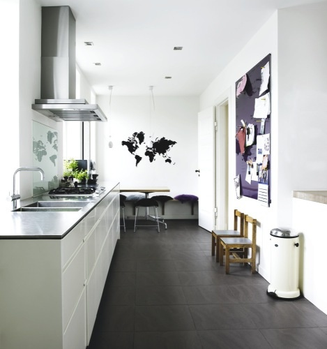 22 best images about dark wooden floors on pinterest With kitchen colors with white cabinets with des plaines city sticker