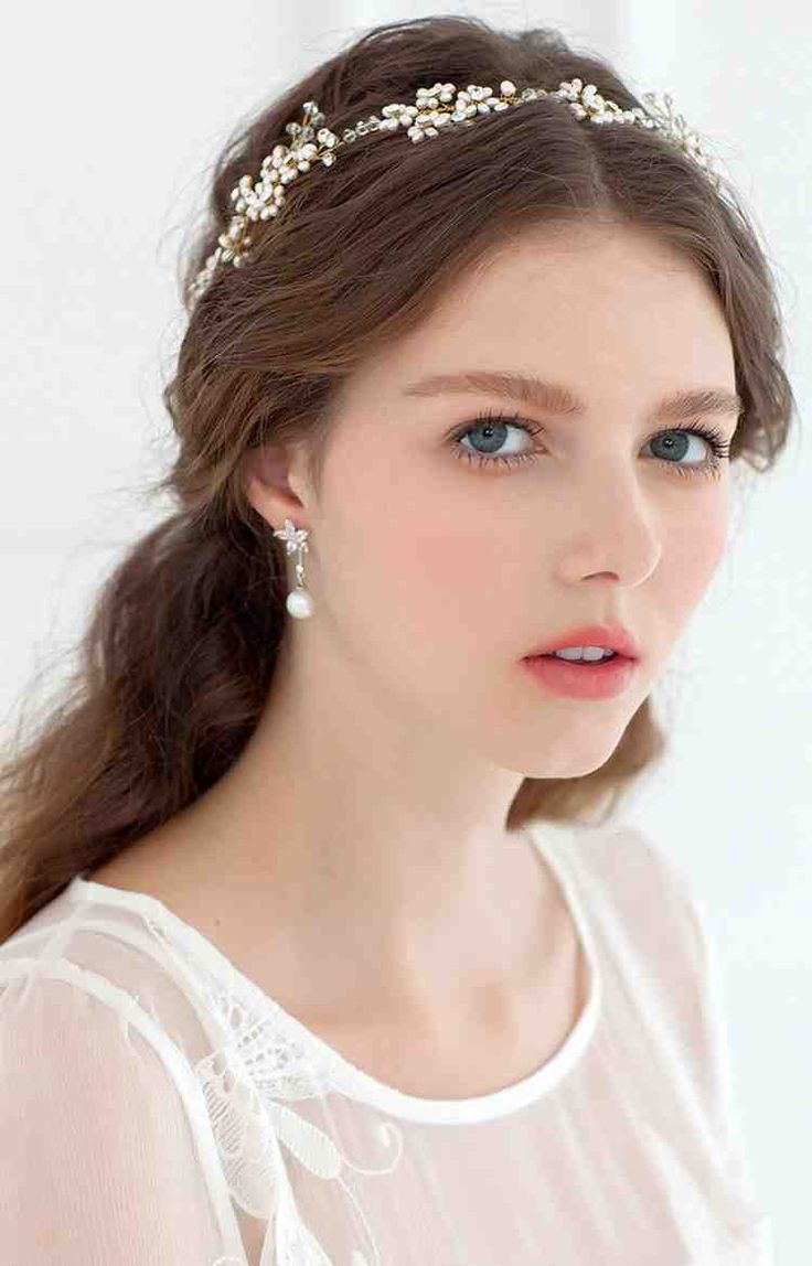 Babyonline Fashion Bridal Hair Accessories Headpieces Pearls Crystal For Weddings