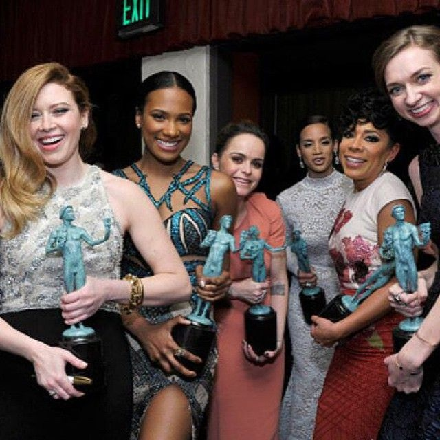 Orange is the New Black:  Natasha Lyonne, Vicky Jeudy, Taryn Manning, Dascha Polanco, Selenis Leyva, and Lauren Lapkus