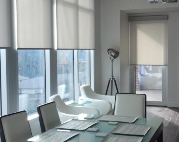 Beautiful Blinds for your home. #cordless #wirefree #windowblinds #motorisedblinds #automatedrollerblinds