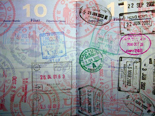 There is nothing prettier than a stamped up passport. I need to start getting mine stamped more. Its been a while.