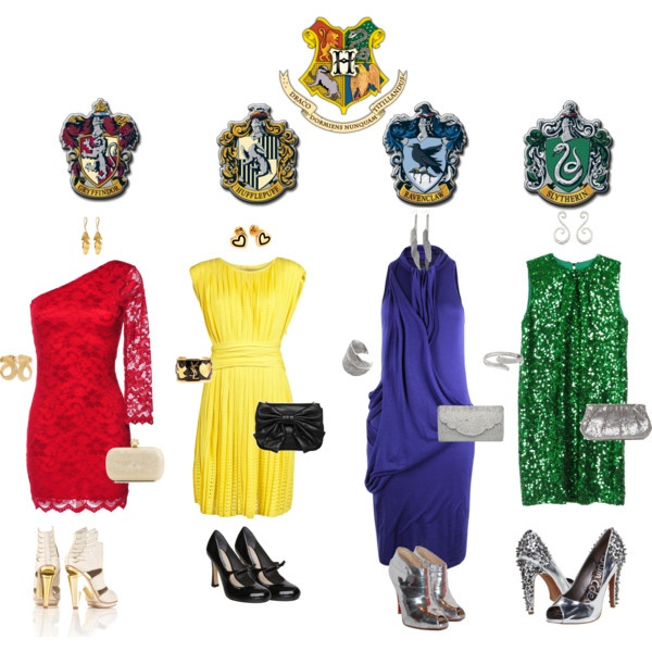 Hogwarts dresses of course i like the gryffindor outfit best 39 39 pinterest House jeansy