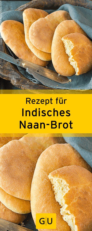 """Schnelles Rezept für indisches Naan-Brot aus dem Buch """"Indisch kochen"""". ⎜GU"""