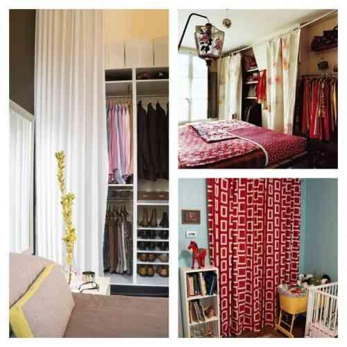 Best 25 dressing avec rideau ideas on pinterest d coration de salle de bai - Dressing avec rideau ...