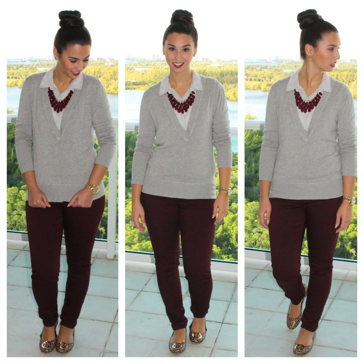 Burgundy, Wine, Oxblood? All of the above?~ Visit Brittanymichele.net! #fashion #style #ootd #wine #oxblood #burgundy