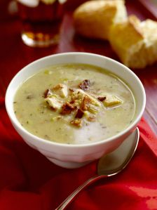 Chicken, Potato, and Leek Soup