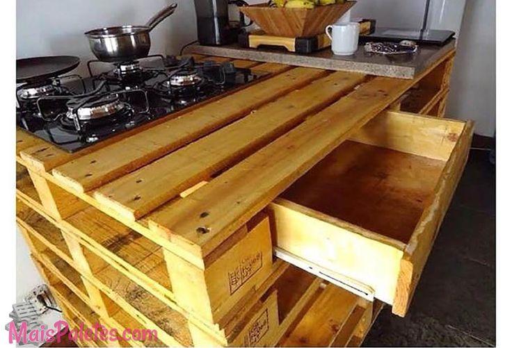 Bancadas E M 243 Veis De Cozinha Com Pallets Http