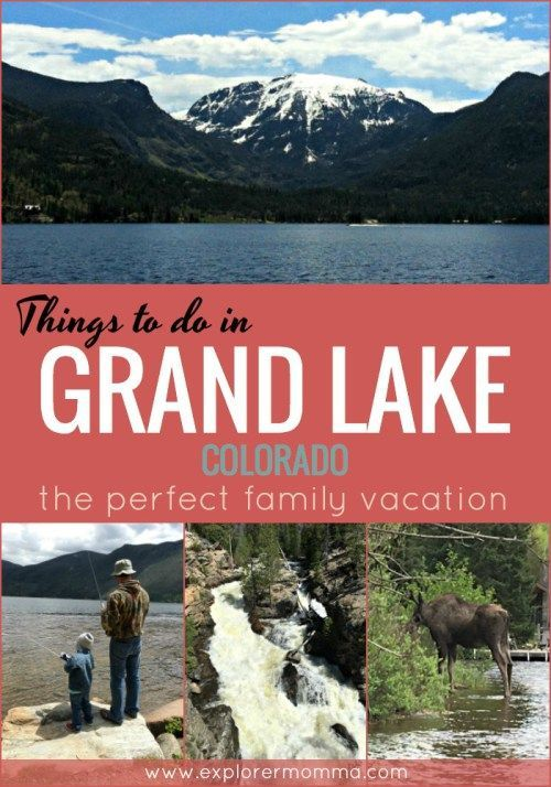 Are you planning a trip to Rocky Mountain National Park? We love our time on the lake so check out the perfect family vacation and these awesome things to do in Grand Lake, Colorado with kids! #grandlake #colorado #familytravel #familyvacation #mountains #lakelife #explorermomma